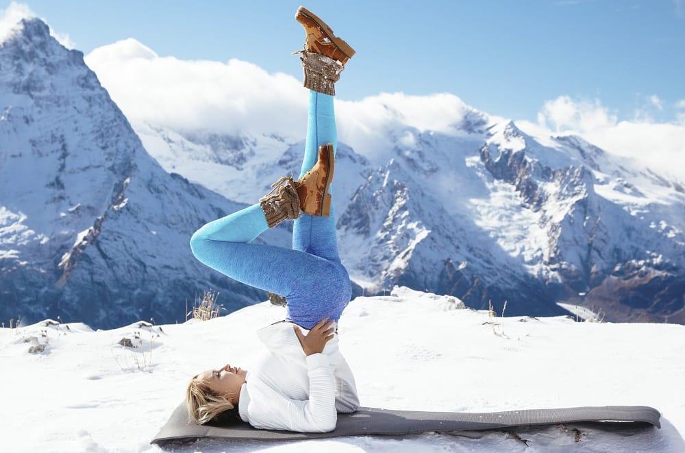 Yoga to increase body heat