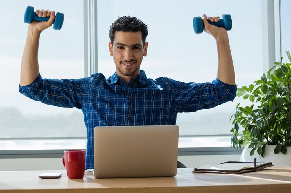 Ways To Stay Fit While Working At Home
