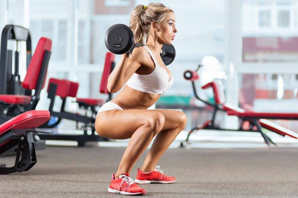 Squats - Best lower body workout for woman