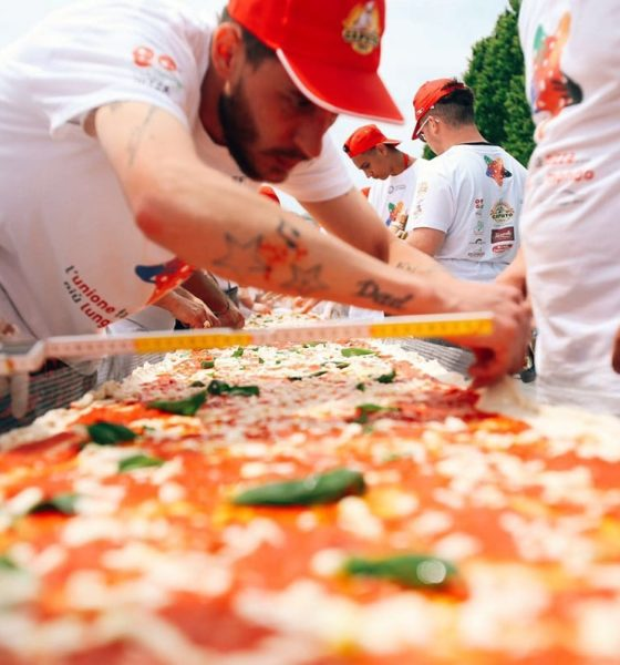 Largest Pizza in the World, Biggest pizza in the world 2017, World biggest pizza guinness record, Largest pizza in the world guinness world records